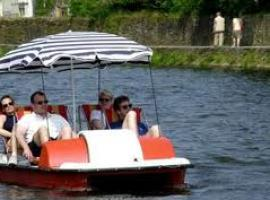 Pedalo treasure hunt is great way to start your party.