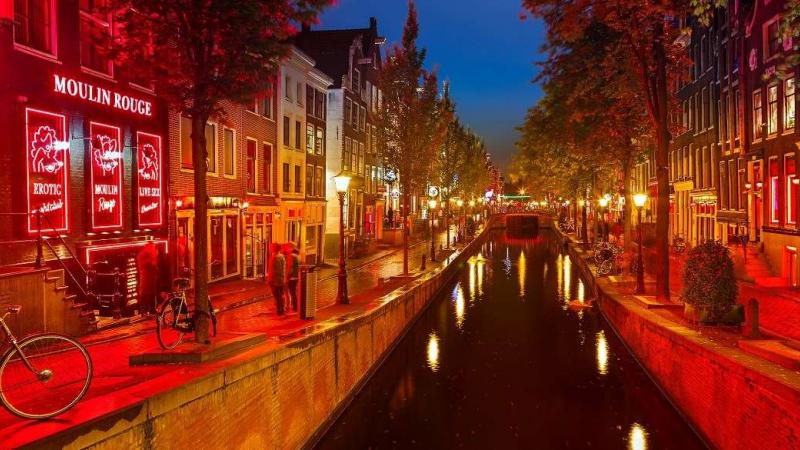 Amsterdam Stag Nightlife in Red Light District