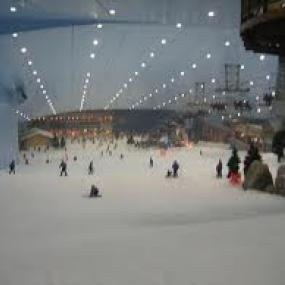 Indoor snowboarding is attractive for many people.