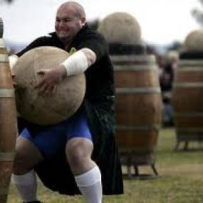 Highland games offer different type of games.